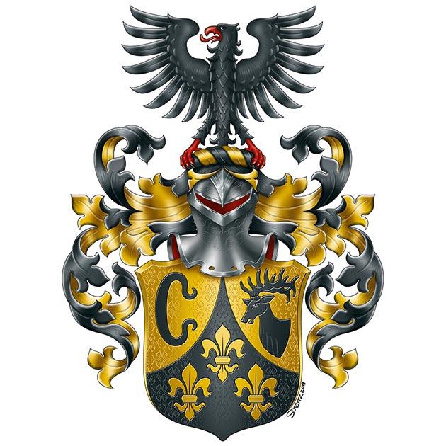 eigenes Familienwappen handgezeichnet, Familienwappen erstellen, Wappen erstellen, Wappen, Wappenkünstler, Wappenkunst, eigenes Familienwappen, Familienwappen entwerfen