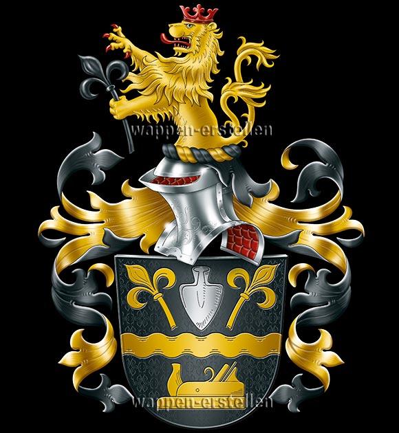 eigenes Wappen, Wappen erstellen, Heraldiker, Familienwappen, eigenes Familienwappen, Wappen erstellen lassen, Wappen registrieren