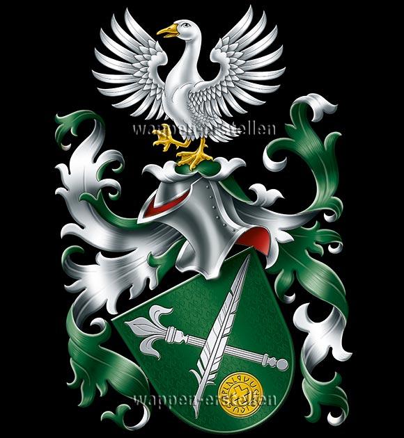 Wappen erstellen, eigenes Familienwappen, Wappen erstellen lassen, eigenes Wappen, Wappen registrieren, Heraldiker