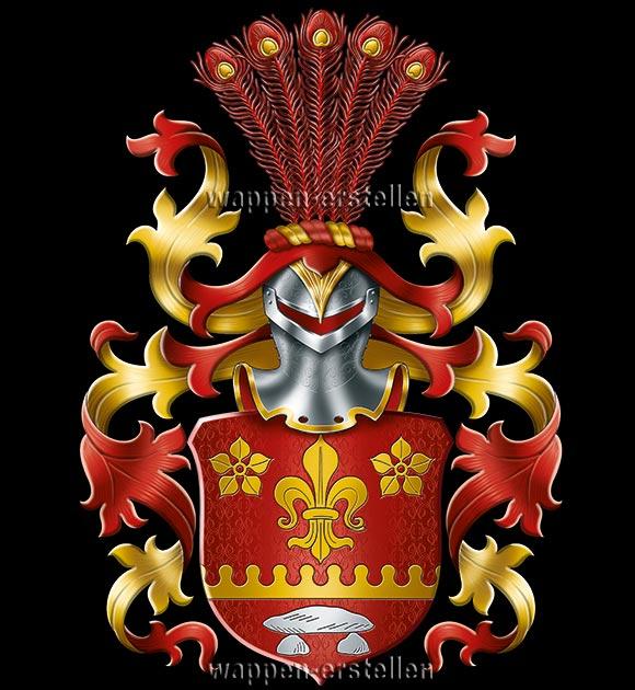 eigenes Wappen, Wappen erstellen, Familienwappen, eigenes Familienwappen, Wappen erstellen lassen, Wappen registrieren, Wappen machen lassen, Heraldiker